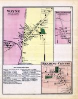 Wayne, Irelandville, Reading Centre, Schuyler County 1874
